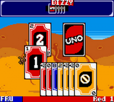 Uno ingame screenshot