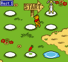Winnie the Pooh - Adventures in the 100 Acre Wood ingame screenshot