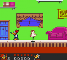 Woody Woodpecker ingame screenshot