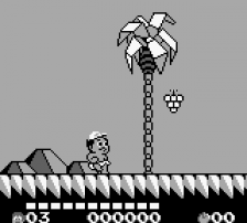 Adventure Island II - Aliens in Paradise ingame screenshot