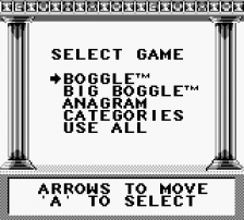 Boggle Plus ingame screenshot