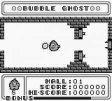 Bubble Ghost ingame screenshot