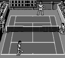 Jimmy Connors Tennis ingame screenshot