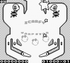 Kirby's Pinball Land ingame screenshot