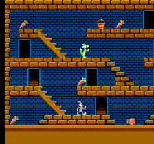 Bugs Bunny Crazy Castle, The ingame screenshot