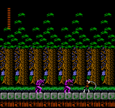 Castlevania II - Simon's Quest ingame screenshot