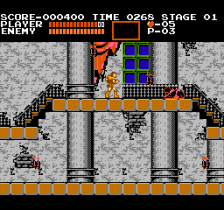 Castlevania ingame screenshot