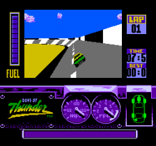 Days of Thunder ingame screenshot