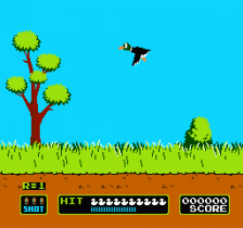 Duck Hunt ingame screenshot