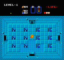 Legend of Zelda, The ingame screenshot