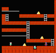Lode Runner ingame screenshot