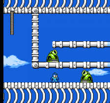 Mega Man 4 ingame screenshot