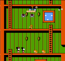 Mickey Mousecapade ingame screenshot