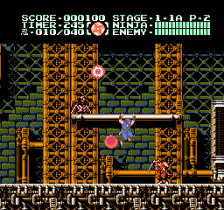 Ninja Gaiden III - The Ancient Ship of Doom ingame screenshot