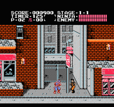 Ninja Gaiden - Shadow Warriors ingame screenshot