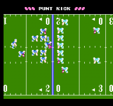Tecmo Bowl ingame screenshot