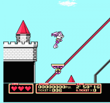 Tiny Toon Adventures 2 - Trouble in Wackyland ingame screenshot