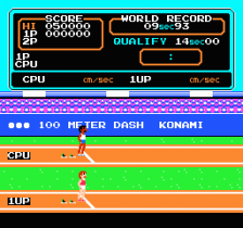 Track & Field ingame screenshot