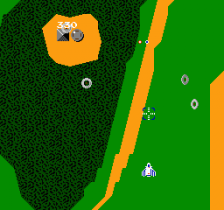 Xevious - The Avenger ingame screenshot