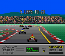 Al Unser Jr.'s Road to the Top ingame screenshot