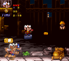 American Tail, An - Fievel Goes West ingame screenshot
