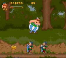 Asterix & Obelix ingame screenshot