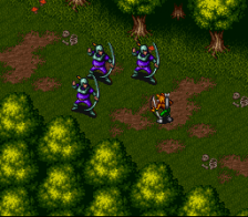 Breath of Fire ingame screenshot