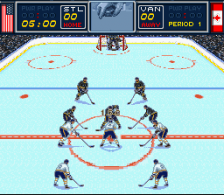 Brett Hull Hockey '95 ingame screenshot