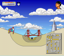 California Games II ingame screenshot