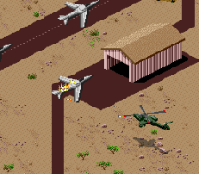 Desert Strike - Return to the Gulf ingame screenshot