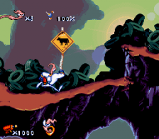 Earthworm Jim ingame screenshot