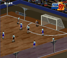 FIFA '97 - Gold Edition ingame screenshot