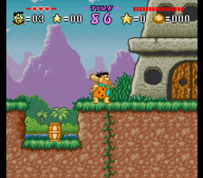 Flintstones, The - The Treasure of Sierra Madrock ingame screenshot