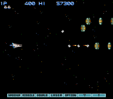 Gradius III ingame screenshot