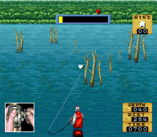 Jimmy Houston's Bass Tournament U.S.A. ingame screenshot