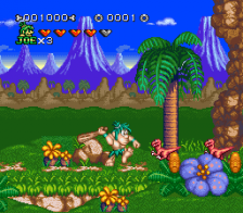 Joe & Mac 2 - Lost in the Tropics ingame screenshot
