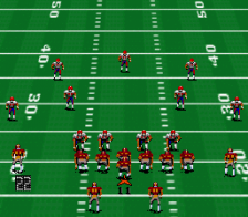 John Madden Football '93 ingame screenshot