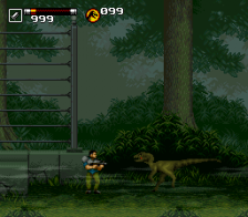 Jurassic Park Part 2 - The Chaos Continues  ingame screenshot