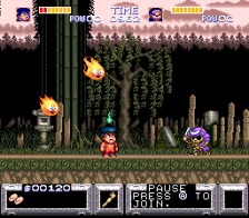Legend of the Mystical Ninja, The ingame screenshot