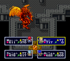 Lufia & The Fortress of Doom ingame screenshot