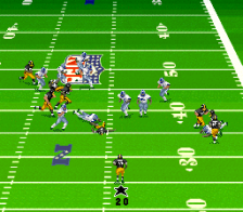 Madden NFL 97 ingame screenshot