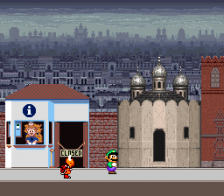 Mario Is Missing! ingame screenshot