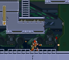 Mega Man X3 ingame screenshot