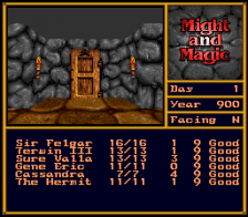 Might and Magic II - Gates to Another World ingame screenshot