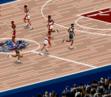 NBA Live' 96 ingame screenshot