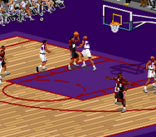 NBA Live' 98 ingame screenshot