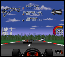 Newman Haas IndyCar featuring Nigel Mansell ingame screenshot