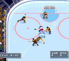 NHL '95 ingame screenshot