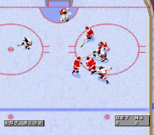 NHL '96 ingame screenshot