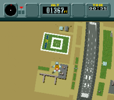 Pilotwings ingame screenshot
